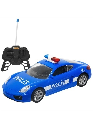 Sunman Sunman 1:20 Suncon Şarjlı Uzaktan Kumandalı Oyuncak Polis Arabası Renkli